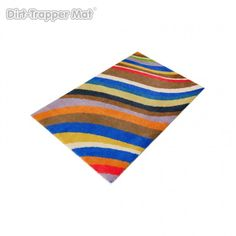 Forget #TheDress, our Modern Stripes Pandora mat is blue, black, white and gold! http://www.thematfactory.com/dirt-trapper-design-modern-stripes-pandora-50-x-75-cm.html