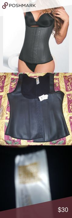 Ann Chery Latex Vest Ann Chery Latex Vest NWT,Available now Looking to sell asap. Size 44=3x Latex Vest Waist Trainer Waist Cincher Vest Latex Black Shapewear Body Shaper Shaper Latex Vest Shaper  Body Shaper Ann Chery Intimates & Sleepwear Shapewear