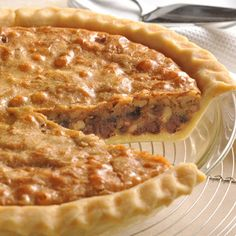NESTLÉ TOLL HOUSE Chocolate Chip Pie features the sweet, creamy richness of a brown sugar base combined with chopped nuts and delicious chocolate morsels. Serve warm with whipped or ice cream.