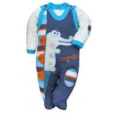 Dzisiaj coś dla niemowlaków, coś całkiem ciepłego i wyjątkowo komfortowego.  Koala - Bawełniany Komplet Crocodilo 2 częściowy dla Niemowlaka. Komplet składa się z bluzeczki zapinanej z przodu oraz śpioszek z motywem krokodyla zapinanych na obu nogawkach.  100 % bawełna! - Pamiętajcie o wybraniu odpowiedniego rozmiaru:)