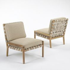 Samuel Marx, Lounge Chairs for Quigley, 1940s.