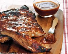 Adams's Ribs are the hot and spicy product of a marriage. It is said that the wife's Cajun background is the source of the spicy heat, while her husband's commitment to the best equipment and a perfectly built fire contributes to the smoky tenderness. A spice rub and two adapted sauces give their ribs their signature taste and texture.