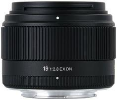 Sigma 19 mm F2,8 EX DN-Objektiv (Sony-E)