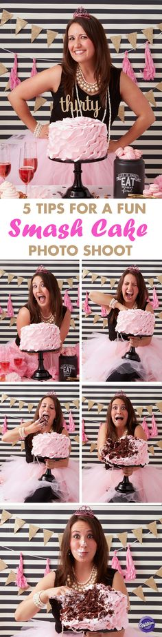 5 Tips for a Fun Grown-up Smash Cake Session – Do something fun and memorable to celebrate a birthday milestone by holding a fun adult smash cake session. Read our five tips on how to have one awesome smash cake photo shoot!