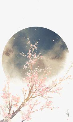 51 Ideas sakura tree anime art for 2019 Tree Wallpaper, Wallpaper Backgrounds, Chinese Wallpaper, Drawing Wallpaper, Galaxy Wallpaper, Phone Backgrounds, Fantasy Kunst, Fantasy Art, Art Chinois