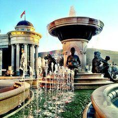 Skopje square - Macedonia