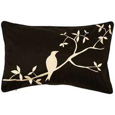 Artisan Weaver Coalmont Bird Decorative Pillow - 13'' x 20''