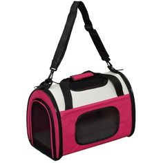 Soft and Light Foldable Pet Carrier, Small, Pink >>> For more information, visit image link.