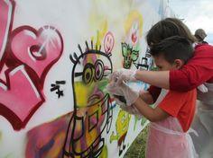 #street-art Open inloop workshop 216 graffitinetwerk