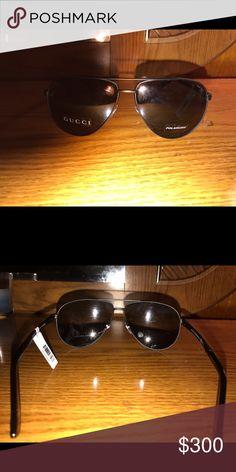 Gucci Sunglasses Polarized Gucci Shades! Dark frames Gucci Accessories Sunglasses