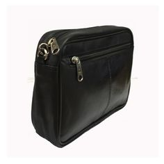Taxi Money Bag - Black Leather - Compact Size And Great Quality - Taxi-Mart Shop  - 1