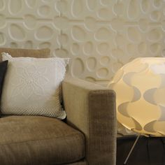 My Wall Art: Eco Friendly 3d-wallpanels Made out of Sugarcane Bagasse