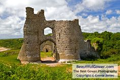 Pennard Castle by Emma Jones