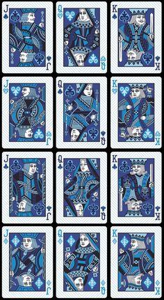 Bicycle Elemental Earth, Wind & Fire Playing Cards by Collectable Playing Cards — Kickstarter. Cartas de jogar tradicionais, é sempre bom ter os clássicos como base. De qualquer das maneiras não deixa de ser original serem desenhadas em azul.