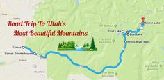 The distance from Kamas to Mirror Lake is about 35 miles. Plan on spending the entire day along this byway, though.there are so many places to stop and explore along the way! Utah Vacation, Need A Vacation, Vacation Ideas, Kamas Utah, Visit Utah, Utah Adventures, Beautiful Roads, Mirror Lake, Adventure Is Out There