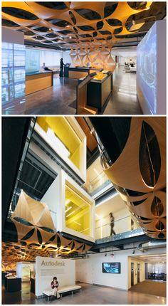 Autodesk Corporate Office Space | Modern Office Design & Architecture ARK…