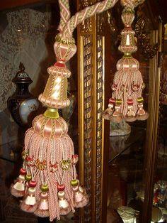 Antique tassels