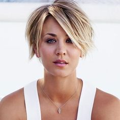Image result for kaley cuoco short haircut