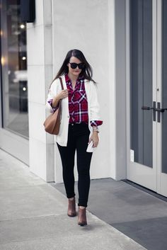 hunter plaid shirt | Houston Fashion Blog, The Styled Fox