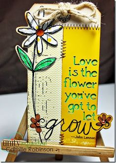 love is the flower - Unity Stamp Co