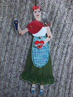 frida Khalo by Rowena Murillo. A great pinned, too!