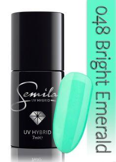 Lakier hybrydowy Semilac 048 Bright Emerald - 7 ml