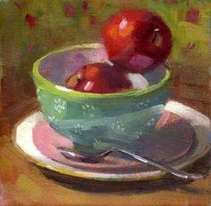 "Peintures par Kathy Weber6 ""x 6"""