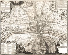 Troisième plan de Paris en 1180