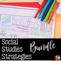 This Social Studies Strategies for Success is a guide book full of engaging, purposeful teaching strategies that provide students a rich learning experience. You will be able to use this binder full of activities all year long! Social Studies Classroom, Social Studies Activities, Teaching Social Studies, Teaching Strategies, Teaching Tools, Teaching Ideas, Instructional Strategies, History Teachers, Teaching History