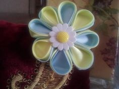 Flower hair by IlNostroNido on Etsy, $6.50
