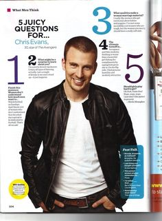 Chris Evans old interview | I get emotional about babies and puppies.... just sayin'