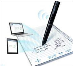 Livescribe Pen - so cool- it records everything you hear, say, AND write!