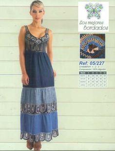 vestidos bordados de cartago - Buscar con Google Summer Dresses, Google, Fashion, Craft Work, Embroidered Dresses, Lace, Skirts, Bruges, Moda