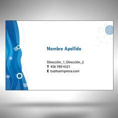 Además de los modelos predefinidos, usted puede diseñar su propia tarjeta de visita usando nuestras plantillas de forma muy sencilla y cómoda. Descargue nuestras plantillas para comprobar cómo quedará impresa su tarjeta de visita. http://tarjetasdevisitadigitalesrapidas.com/disenela.html