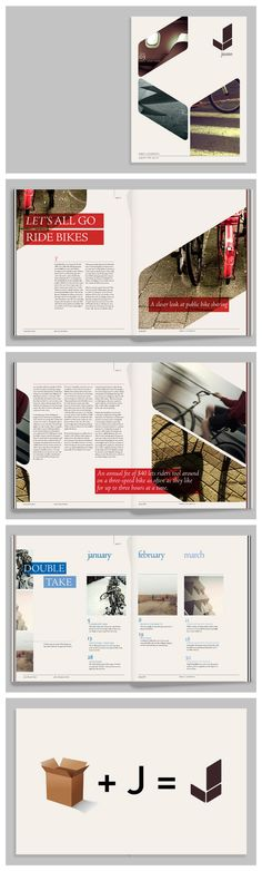 Geometric print layout - rounded angled shapes #graphic #design #layout