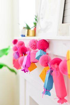 Make It \\ DIY Paper Gift Box Garland