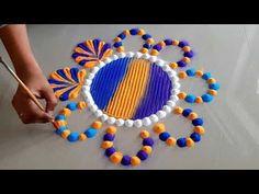 आनेवाले सभी त्योहार के लिये सु… – Pastry World Easy Rangoli Designs Videos, Easy Rangoli Designs Diwali, Indian Rangoli Designs, Rangoli Designs Latest, Rangoli Designs Flower, Free Hand Rangoli Design, Rangoli Border Designs, Dot Rangoli, Small Rangoli Design