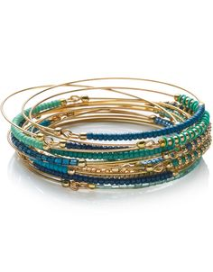 colorful arm candy bangles