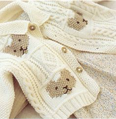"Sweet Little Baby Jacket & Hat - Chunky Knitting Pattern - 16 -24"" Easy Beginner - 5th village"