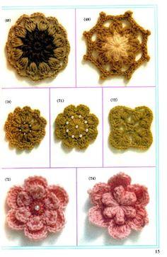 Crochet techniques fleurs au crochet - yube tt - Picasa Web Albums