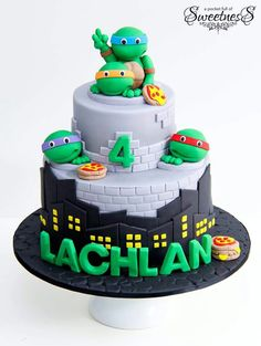 A Pocket Full Of Sweetness | Teenage Ninja Turtles cake