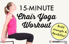 If you are just starting out, some traditional yoga poses and postures can be a little overwhelming and/or too tough on the wrists. Not in this routine!