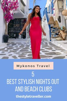 Mykonos travel guide #travel #traveltips #travelideas Beautiful Villas, Beautiful Day, Old School Restaurant, Tan People, People Dancing, Party Scene, Beach Club, Mykonos, Night Club