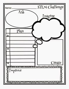 STEM Planning Graphic Organizer