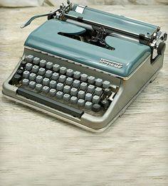 Vintage Torpedo Model 18b Typewriter by Anodyne & Ink on Scoutmob Shoppe