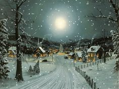 The perfect Snow Christmas SnowDay Animated GIF for your conversation. Discover and Share the best GIFs on Tenor. Christmas Scenes, Christmas Past, Christmas Pictures, Winter Christmas, Winter Szenen, Santa Claus Is Coming To Town, Snow Scenes, Old Fashioned Christmas, Winter Pictures