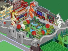 Springfield Tapped Out, The Simpsons Game, Environment Design, Galaxy Wallpaper, Chai, The Past, Instagram, Egyptian, Layouts