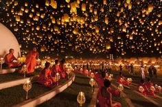 Festival delle lanterne, Thailandia