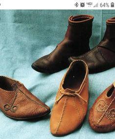 03dba6cfe61 37 bästa bilderna på Skor   Shoes, Leather och Medieval clothing