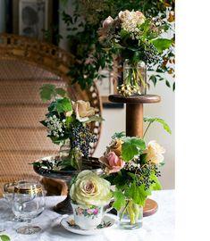Prunella X Erin + Tara - The Design Files Flower Vases, Flower Arrangements, Flora Garden, The Design Files, Tropical Decor, Wedding Decorations, Flower Decorations, Wedding Ideas, Elegant Homes
